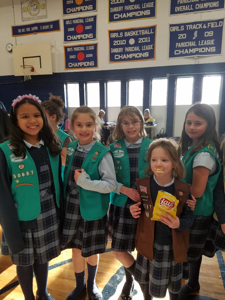 Girl Scout Welcome Baskets